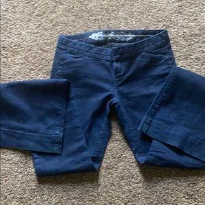 Ladies jeans flare leg